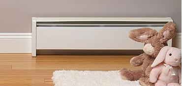 Baseboard Heating Installation