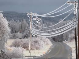 Hydro-Quebec Ice Electrical lines